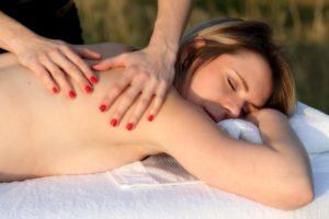 massage une zone