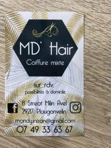 Mandy, Coiffeuse à domicile à Locmaria, proposant des coiffures mariées et toute la préparation capillaire post mariage